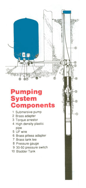 shallow well pump systems diagram